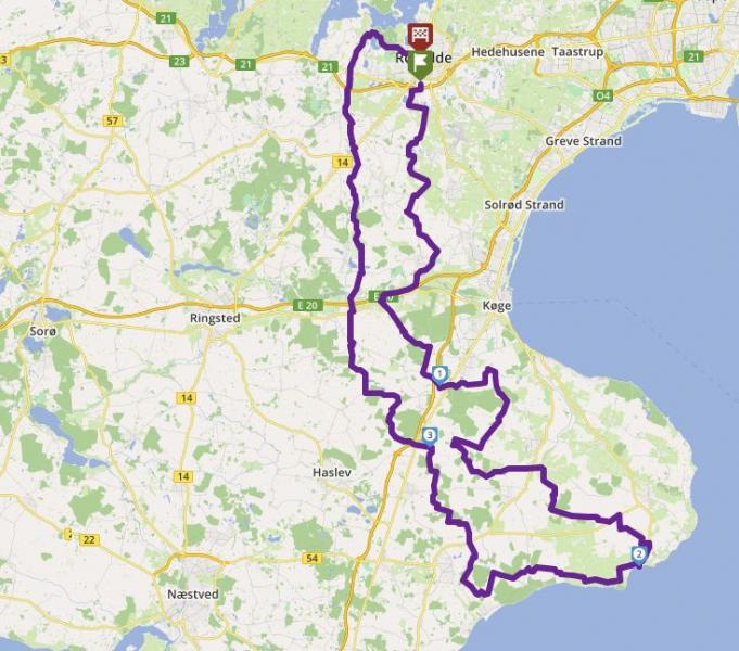Tour 267_Ro - Rødvig - Ro image