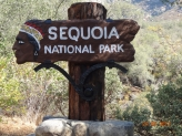 Indgang til Sequoia National P
