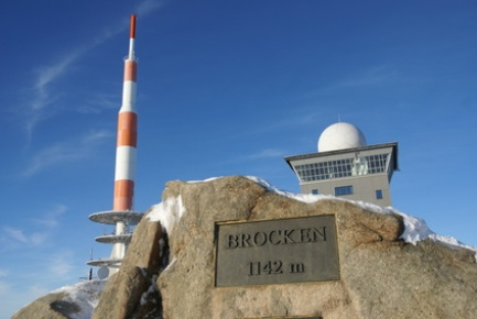Motorcykel tur germany 86. Braunlage - Brocken, Harzen d ...