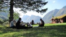 Tour Fra trolstien til Viking camping image