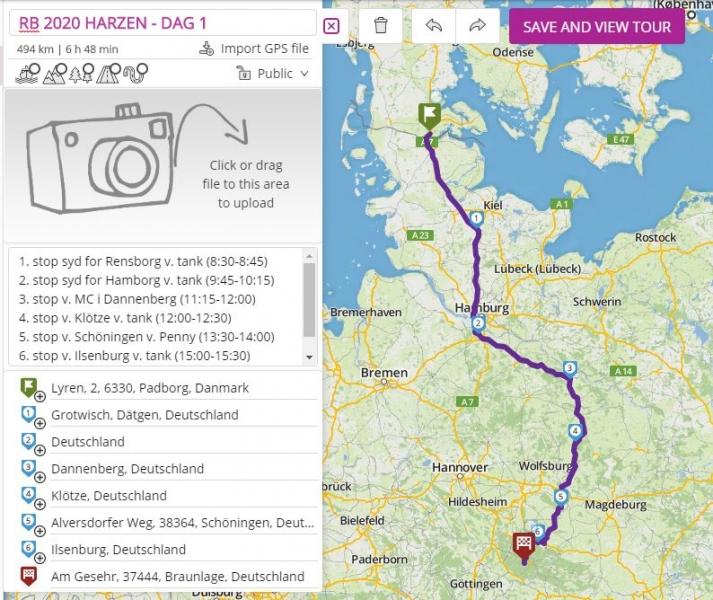 Tour RB 2020 Harzen - dag 1 image