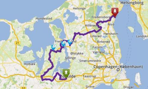 Tour 130_Ro - Humlebæk Kro image