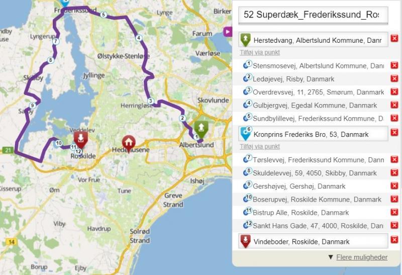 Tour 024 Frederikssund Roskilde fra Superdæk image