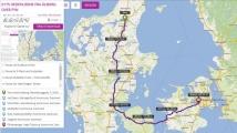 Tour 0175 Hedehusene fra Ålborg over Fyn image