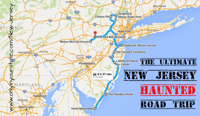 Tour haunted road rally image