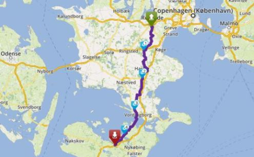 Tour 163_Ro - Sakskøbing image