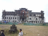 Old casino in Bokor Cambodia
