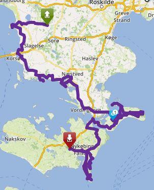Tour Øhop dag 1 image