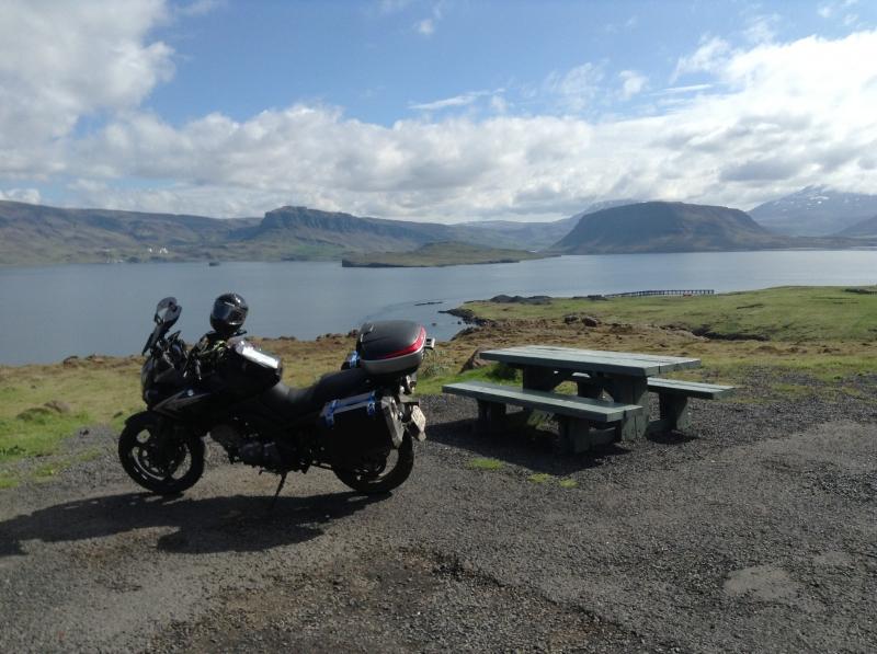 Tour Island rundt, som jeg kørte den i store træk, sådan ca :-) image