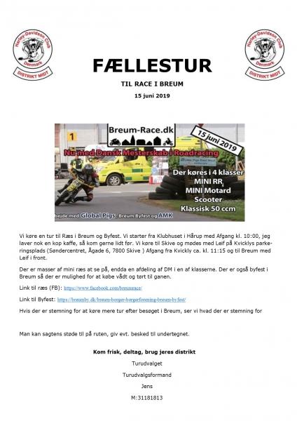 Tour 2019-18 Ræs i Breum. d. 15-6-19 image
