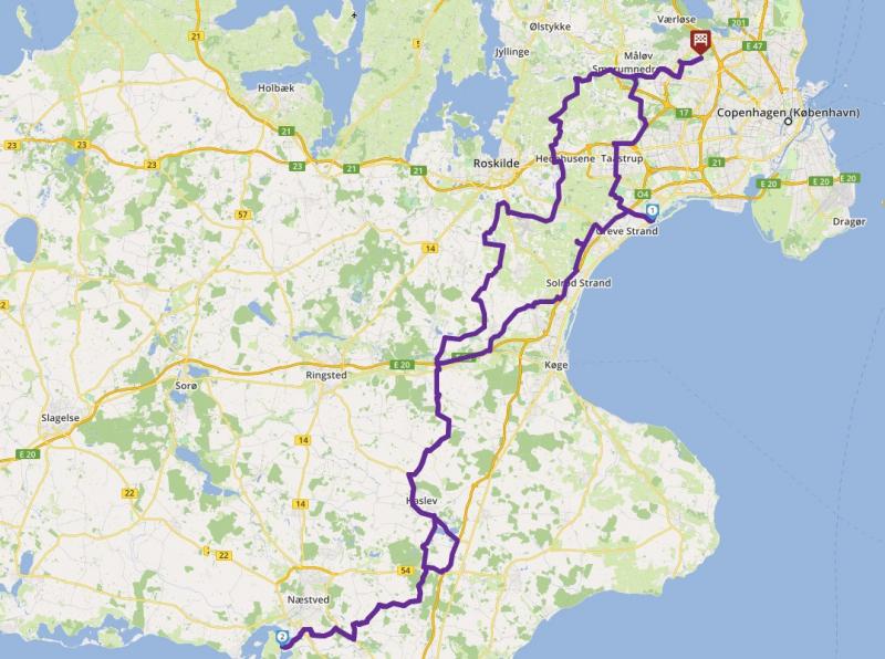 Tour LR210613-Gavnø Slot m. stop på Fyrrestien image