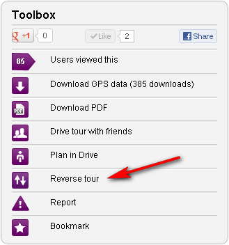 Toolbox with functions for Tourstart web site