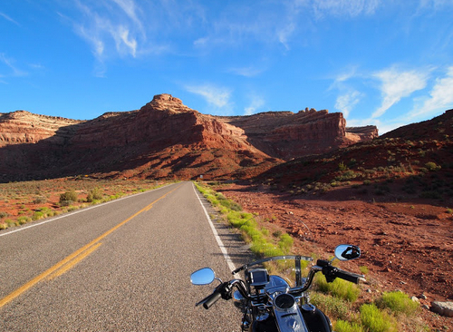 Motorcycle rideplan for summer holiday trip on Harley Davidson