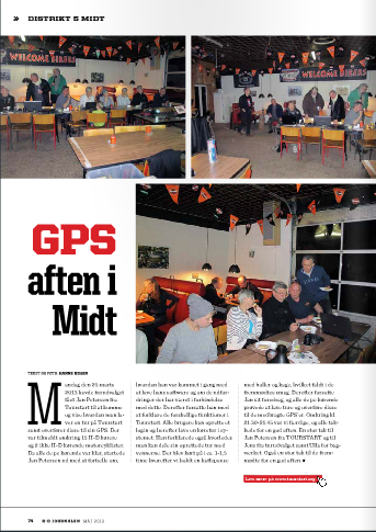 Harley-Davidson Club of Denmark and Tourstart have GPS evening